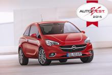 Opel ökade till nästan 1,1 miljoner bilar under 2014