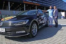 Malmö FF kör Volkswagen