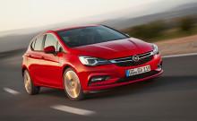 Euro NCAP: Fem stjärnor till nya Opel Astra