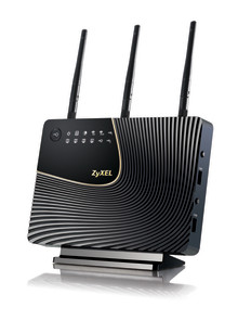ZyXEL lanserar 900 Mbps dual band router