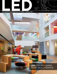 Senaste nytt: LED för belysning inom- och utomhus - en inspirationsbroschyr från Ljuskultur