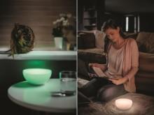 Philips offentliggør ny, trådløs belysning: Tag lyset med dig