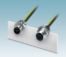 Kompakt kraftkontakt för kraftelektronik
