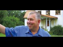 Odd Norman är bonde på Gotland