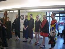 Sophie Hong modevisning i Kungsträdgården