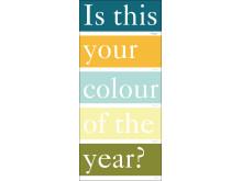 Fem trendfärger från Gustavsberg