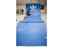 Chris Haslam, adidas back 2 back - Junkyard Skate Olympix 2010