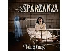 """Sparzanza """"Folie à Cinq""""  #8 på FInska albumlistan"""