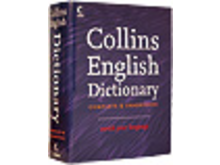 Collins English Dictionary, engelsk