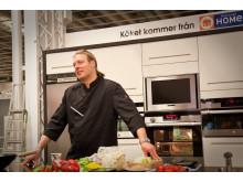 Electrolux Home och Årets Kock 2010 på Fotomässan