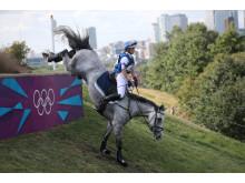 Ridsport - OS-silver till Sara Algotsson Ostholt