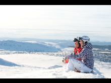 SkiStar - skidåkning vintervy