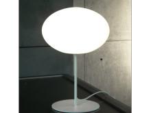 Eggy Pop bord/golv. Armaturen i polyeten för de nya ljuskällorna.