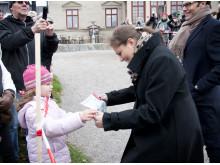 Kronprinsessparet vid Görvälns slott, Järfälla