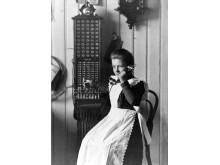 1881 - Telefonstinne Gea Rønning Røros Telefonselskab 1893