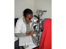 Ögonklinik, Jijiga Etiopien