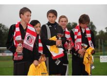Talangerna - vinnarna i 2012 års Glada Hudik Straffen, ungdomsklassen