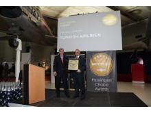 Turkish Airlines utsedd till Europas bästa flygbolag 2011