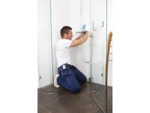 Vart fjärde badrum riskerar vattenskada - Snåla inte på golvbrunnen när du renoverar badrummet
