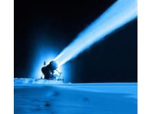 Snökanon nattbild