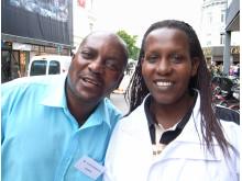 Yobo Mukonka och Beatrice Nyinawingeli