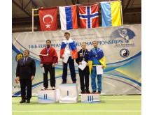 Tim Nøttveit fikk bronsemedalje i wushu-EM