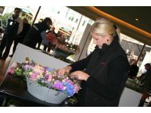 Malin Svahn vann debutant-SM i blomsterbinderi 2010