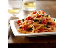 Hunt's tomatsås på pasta