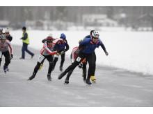 Skridsko på VinterKorpiaden i Falun. Foto. Ulf Palm