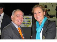 Malin Eggertz Forsmark vald till förste vice ordf i Europeiska Gymnastikförbundet (UEG)