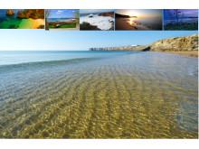 Sanslösa stränder i Algarve, Portugal. Din arbetsplats under Corporate Culture Challenge Experience!