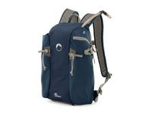 Lowepro Flipside Sport AW 10L blå med utdragen vätskeslang