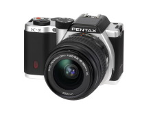 Pentax K-01 with 18-55mm