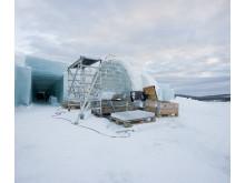 Icehotel förbereds inför besök av 600 tyska resesäljare och journalister