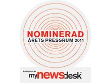Årets Pressrum badge, nominerad jpg