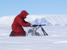 Snöstudier på Antarktis/Snow grain studying in Antarctica