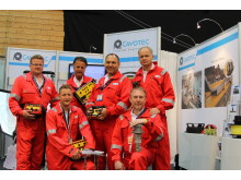 The Cavotec Micro-control team all kitted up and ready for action at ONS2012