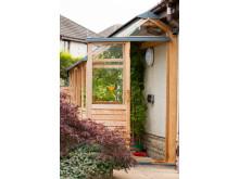 Babyvinehouse!! Väggväxthus för små utrymmen