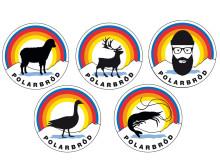 Polarbröd Klämmor Logotyp