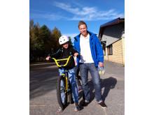 Årets pantletare 2012 - Joel Lundin, tillsammans med Rickard Andersson från Returpack/Pantamera