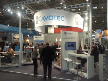 Visitors at the Cavotec stand at Inter Airport Europe