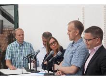 Panel under seminarium i Almedalen 2013
