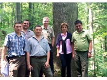 Mässområdet för Forest Romania 2015 är typiskt för Rumänien med brant terräng och grova dimensioner.