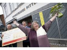 Lotto-millionær, Jonna Kristensen fra Aalestrup