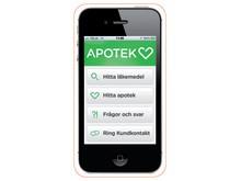 Apotek Hjärtats app samlar nyttofunktioner