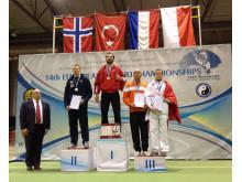 Wushu EM Jan-Rhoar Skjøndal vinner sølv
