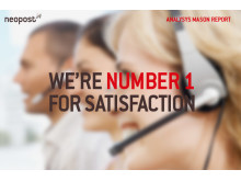 Neopost achieves highest ever customer satisfaction levels