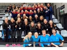 NM-silver till Örebro GF KIF och brons till Höganäs GF 2013
