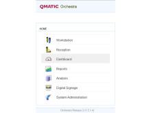 Qmatic Orchestra - Central mjukvaruplattform för kundflödeshantering