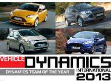 Ford får två utmärkelser för fordonsdynamik